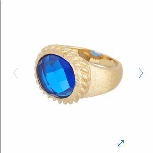 Rivka Friedman Crystal Satin Ring